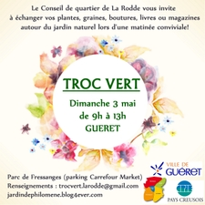 Troc Vert de la Rodd - Guéret - Mai 2015