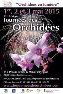 """""""Orchidées en lumière"""" - Salignac-Eyvigues - Mai 2015"""