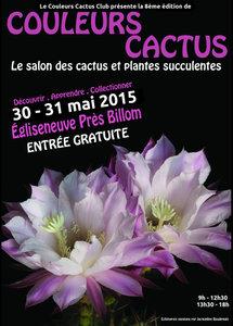 Couleurs Cactus Club de Clermont-Ferrand - Égliseneuve - Mai 2015