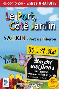 Le Port, Côté Jardin - Saujon - Mai 2015