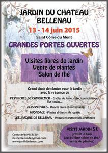 Grandes portes ouvertes jardin et pépinière - Saint Côme du Mont - Juin 2015