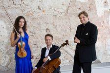 Soirée Romantique : Liana GOURDJIA au violon, Marc COPPEY au violoncelle, Peter LAUL au piano