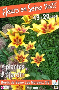 12ème Fête des plantes et du Jardin - Fleurs en Seine - Les Mureaux - Septembre 2015