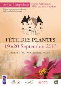 Fête des Plantes - Arnac-Pompadour - Septembre 2015