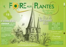 Foire aux plantes en Aveyron, le rendez-vous Nature ! - Saint Côme d'Olt  - Septembre 2015