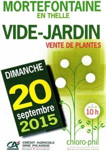 Vide Jardin de Chloro-Phil - Mortefontaine - en - Thelle - Septembre 2015