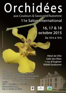 11e Salon International d'Orchidées  - Eaubonne - Octobre 2015