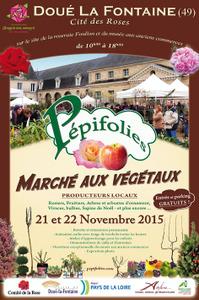 Marché aux végétaux - Doué-la-Fontaine - Novembre 2015
