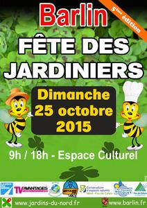 La fête des Jardiniers : du jardin à la cuisine ! - Barlin - Octobre 2015