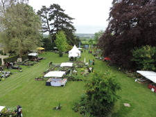 La fête des plantes, au Château La Chenevière - Port en Bessin - Mai 2016