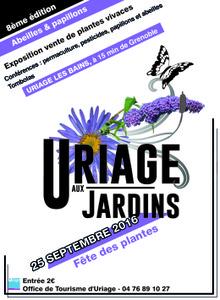 Fête des Plantes d'Uriage - Uriage (St Martin d'Uriage) - Septembre 2016