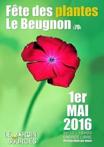 Fête des plantes du Beugnon - Le Beugnon - Mai 2016