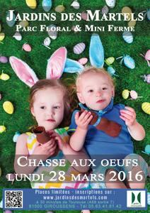 Grande chasse aux oeufs de Pâques - Giroussens - Mars 2016