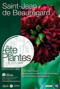 Fête des Plantes de Saint-Jean de Beauregard - Saint-Jean de Beauregard - Avril 2016