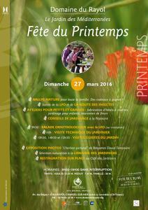 Le Domaine du Rayol fête l'arrivée du printemps ! - Rayol-Canadel-sur-Mer - Mars 2016