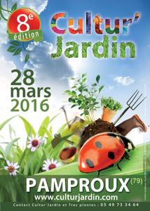 Cultur'Jardin - Fête des Plantes en Deux-Sèvres - Pamproux - Mars 2016