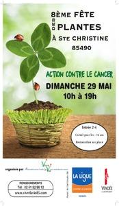 8ème Fête des Plantes - Benet - Ste Christine - Mai 2016