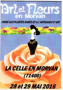 Art Fleurs en Morvan - La Celle-en-Morvan - Mai 2016