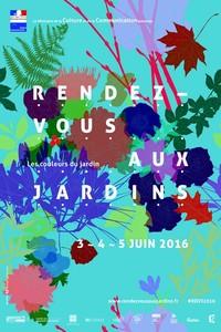 """Rendez-vous aux jardins """"Les couleurs du jardin"""" - Salignac-Eyvigues - Juin 2016"""
