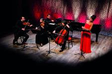 """Concert dans la Cour du Manoir """"Joséphine mon amour"""" - Salignac-Eyvigues - Août 2016"""