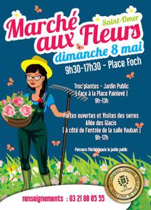 Marché aux Fleurs - Saint-Omer - Mai 2016