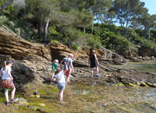 « Les pieds dans l'eau » au Domaine du Rayol !