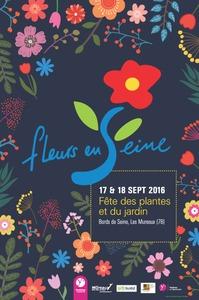 Fleurs en Seine au Parc de l'oseraie - Les Mureaux - Septembre 2016