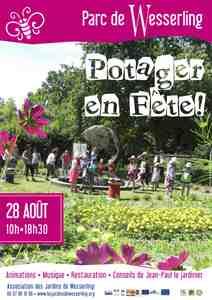 Fête du potager au Parc de Wesserling - Husseren-Wesserling - Août 2016