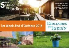 Dialogues au Jardin : Le Bien Être au Jardin - Cabanac et Villagrains - Octobre 2016