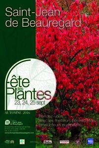 Fête des Plantes d'Automne - Saint-Jean de Beauregard - Septembre 2016