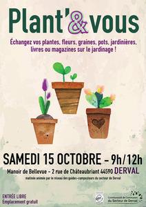 Plant' & Vous - Derval - Octobre 2016