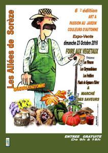 Art et passion au jardin saveurs d'automne - Soreze - Octobre 2016