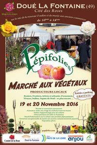 Pépifolies 2016 :  rencontre entre jardiniers en herbe et producteurs - Doué la Fontaine - Novembre 2016