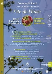 Fête de l'Hiver - Journées portes ouvertes au Domaine du Rayol - Rayol-Canadel-sur-Mer - Décembre 2016