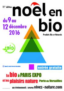 Noël en bio - Paris 15e - Décembre 2016