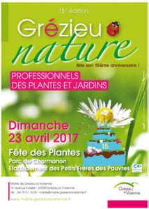 """15ème fête des plantes """"Grézieu Nature"""" - Grézieu-la-Varenne - Avril 2017"""
