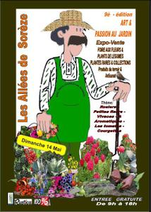 Art et passion au jardin - 9e édition - Sorèze - Mai 2017