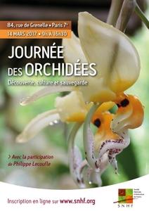 La journée des orchidées : découverte, culture et sauvegarde - Paris 07 - Mars 2017