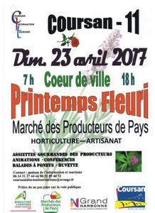 Printemps Fleuri de Coursan - Coursan - Avril 2017