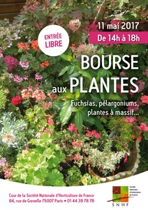 Bourse aux plantes - Paris - 7e - Mai 2017