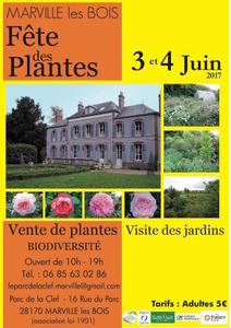 Fête des plantes et de la biodiversité - Marville-les-Bois - Juin 2017