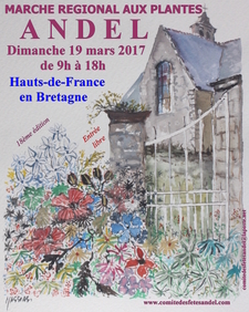Marché régional aux plantes - Andel - Mars 2017
