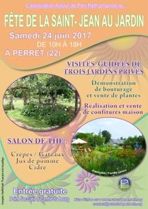 Fête de la Saint-Jean au jardin - Perret - Juin 2017