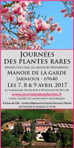 Journées des plantes rares du Manoir de la Garde - Jarnioux - Avril 2017