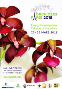 Exposition Internationale Orchidées  - Paris 19e - Mars 2018