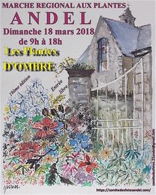 Marché régional aux plantes - Andel - Mars 2018