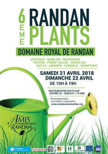 6e randanplants - Randan - Avril 2018