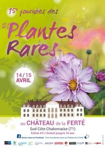 15èmes Journées des Plantes Rares - Saint Ambreuil - Avril 2018