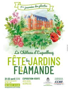Le Château d'Esquelbecq fête les Jardins à la Flamande - Esquelbecq - Avril 2018