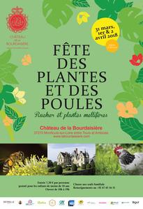 24e édition de la Fête des Plantes et des Poules - Montlouis-sur-Loire - Mars 2018